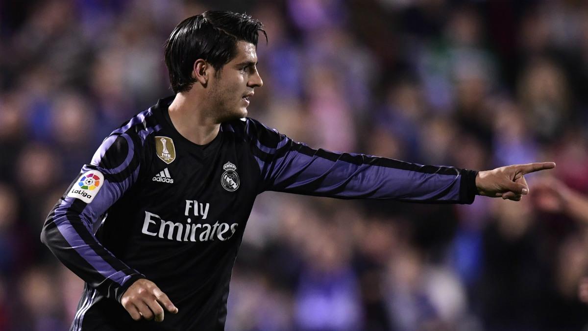 Morata, uno de los delanteros con mejor cartel de Europa. (AFP)
