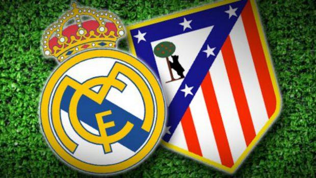 Real Madrid y Atlético de Madrid. Derbi madrileño.