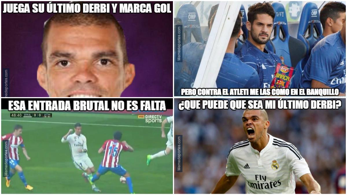 Los mejores memes y bromas del derbi madrileño entre Real Madrid vs Atlético de Madrid.