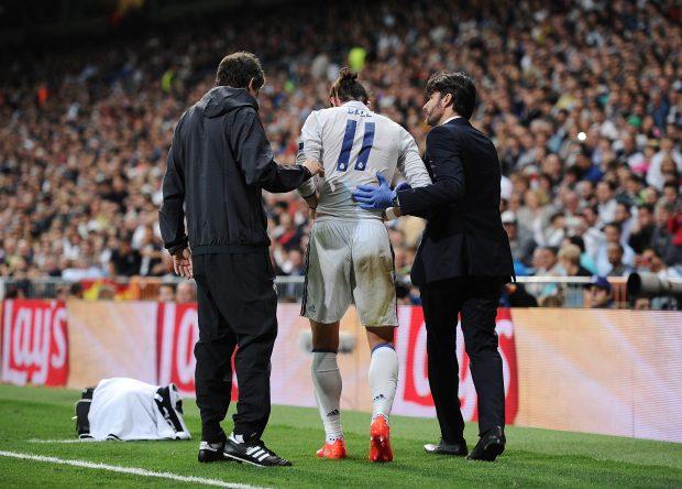 Las lesiones, un problema para Bale. (AFP)