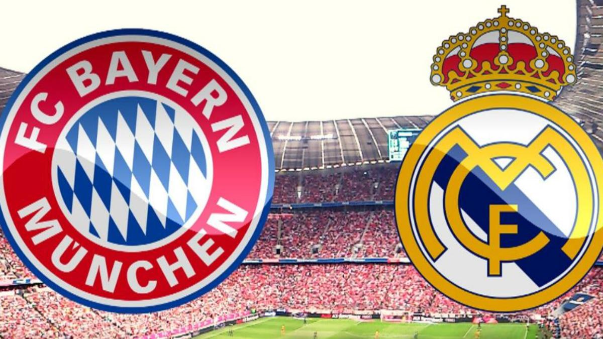 Bayern Vs Real Madrid.