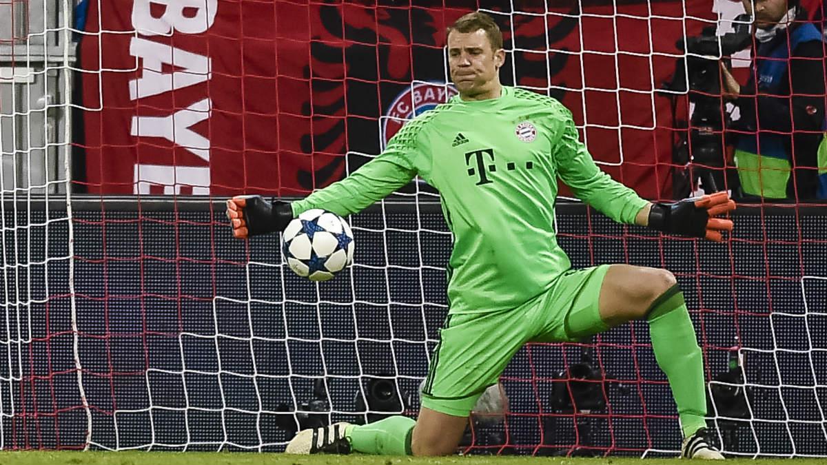 Neuer evitó la goleada del Real Madrid. (AFP)