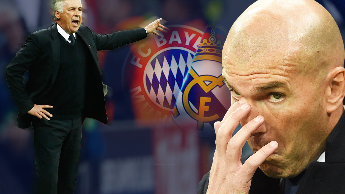 El alumno le ganó al maestro: monumental repaso táctico de Zidane a Ancelotti