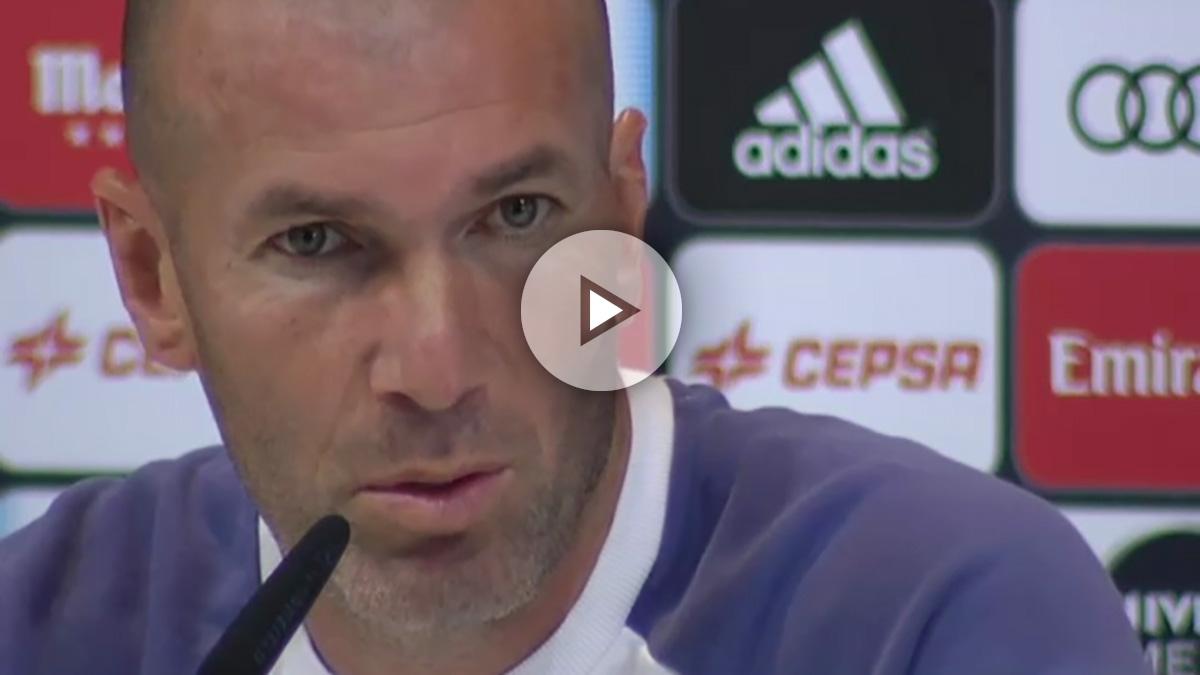 Zidane hará rotaciones contra el Sporting.