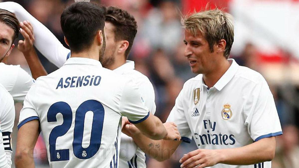 Alineación oficial del Real Madrid: Isco es suplente y Coentrao, titular
