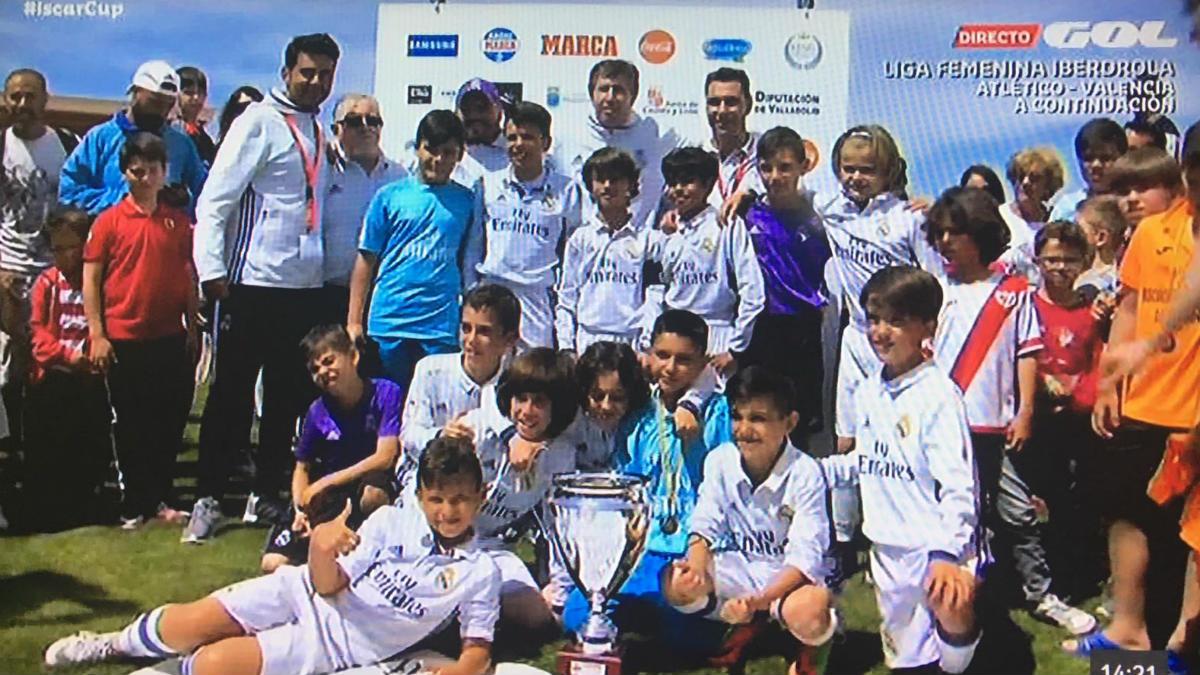 El benjamín A conquistó la Iscar Cup.