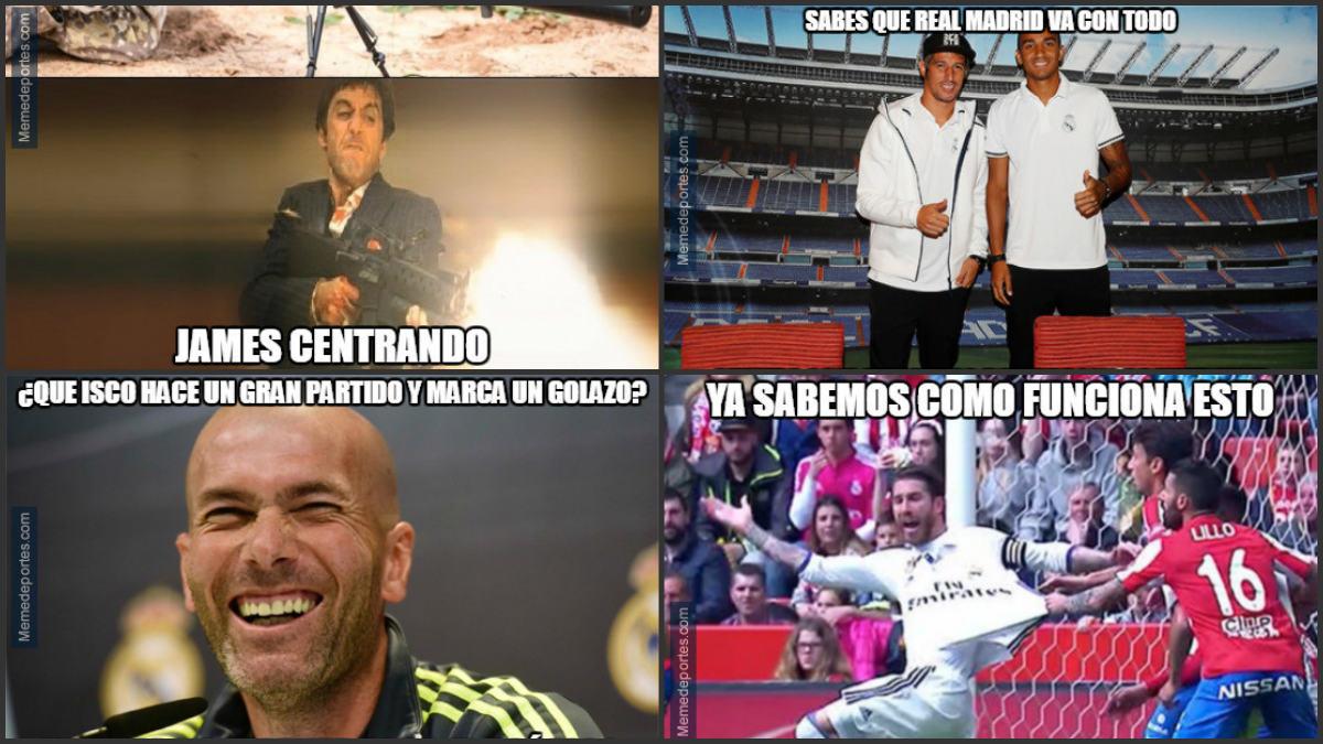 Los mejores memes del Sporting-Real Madrid.