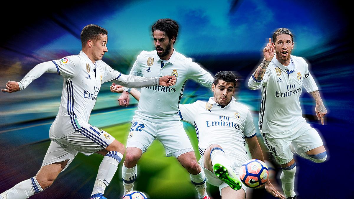 La escopeta nacional: los españoles del Real Madrid han marcado 50 goles esta temporada