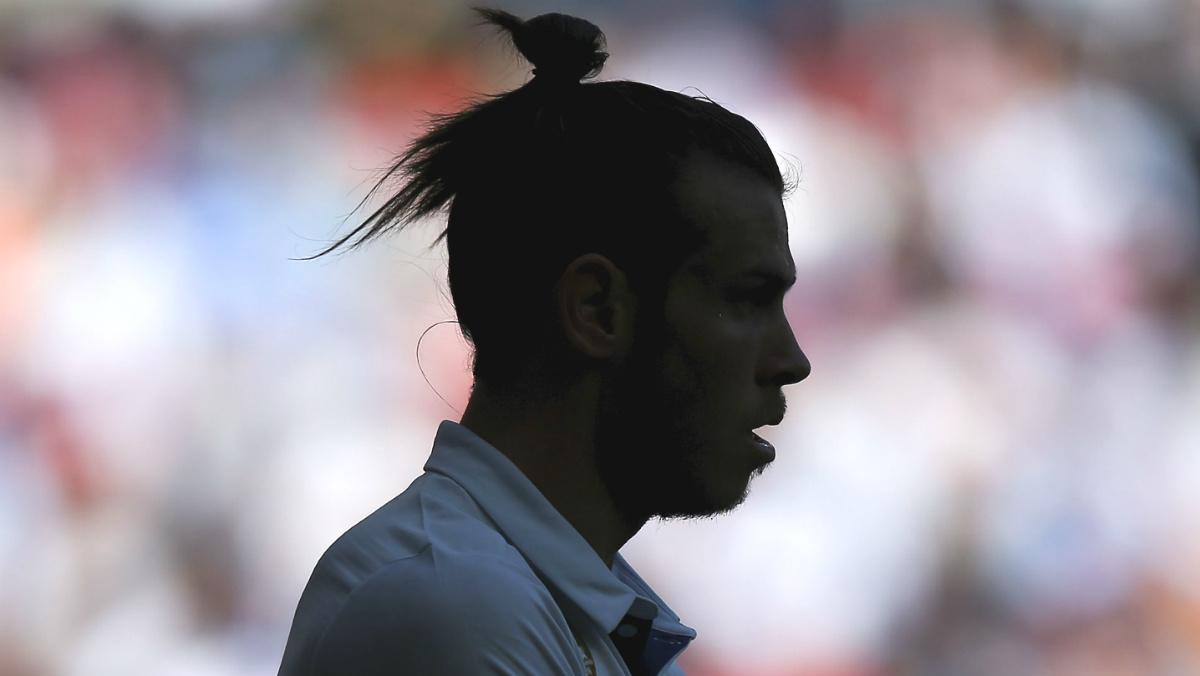 Gareth Bale, en un partido en el Bernabéu. (AFP)