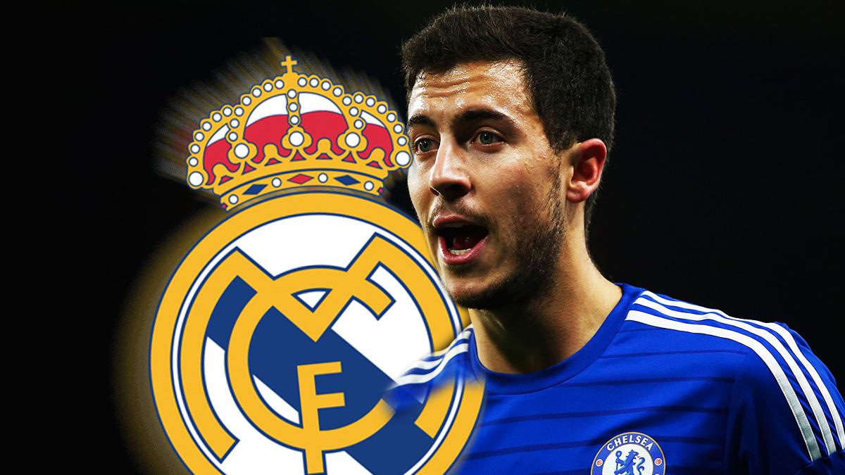 Eden Hazard quiere jugar en el Real Madrid.