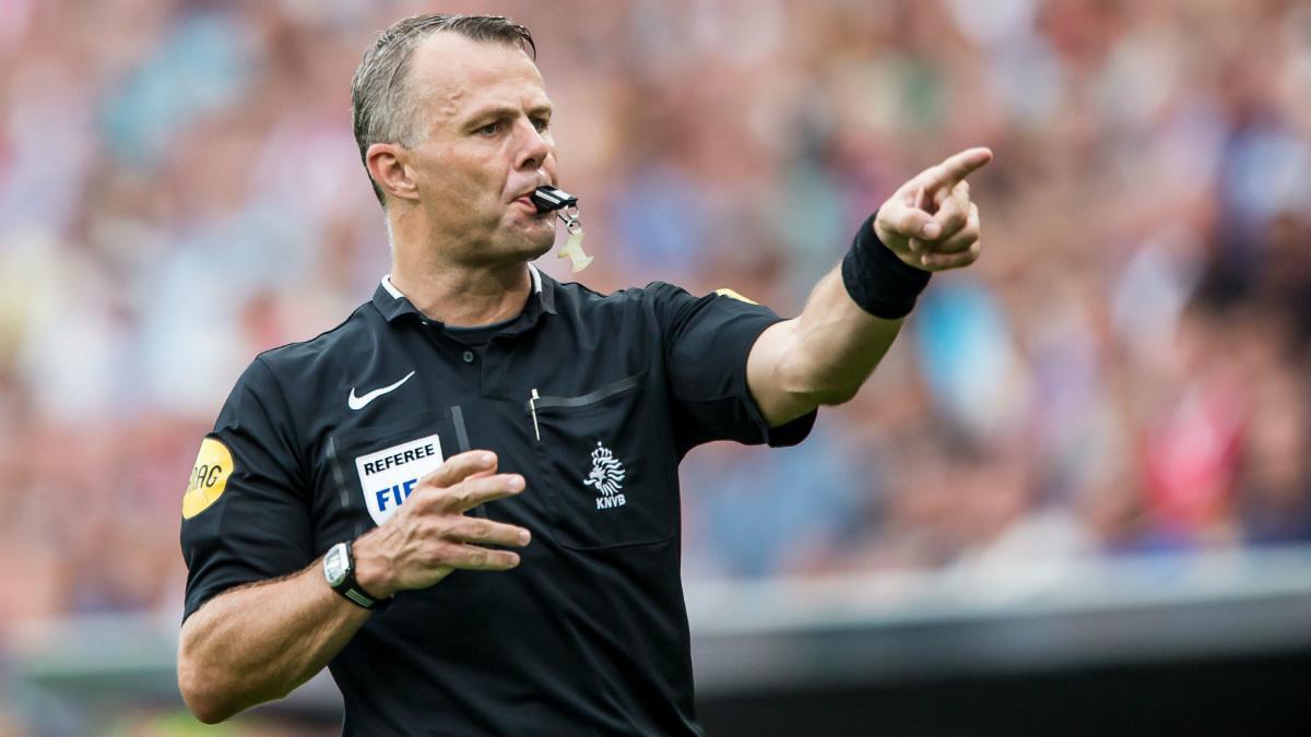 Kuipers es un árbitro de dilatada experiencia en Eurocopas y Mundiales.