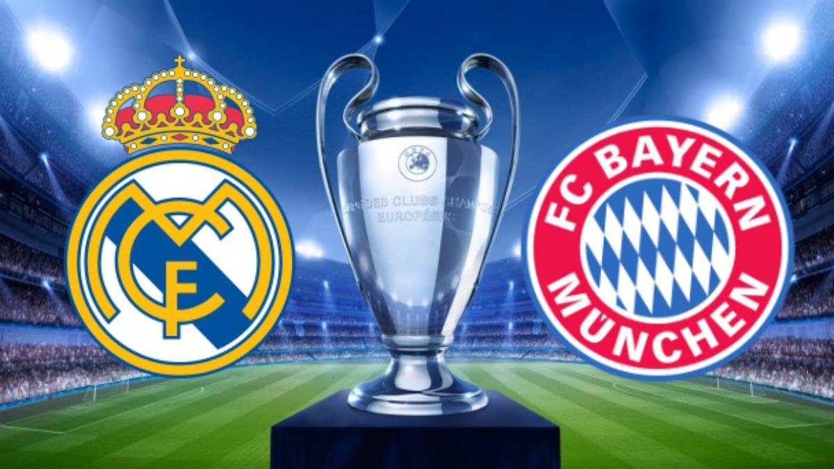 Horario y dónde ver por televisión el Real Madrid vs Bayern de Múnich.