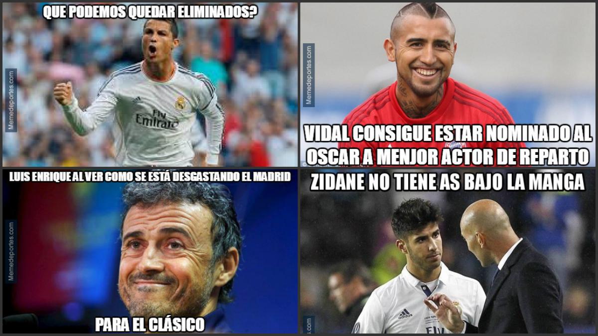 Los mejores memes del Real Madrid-Bayern de Múnich.