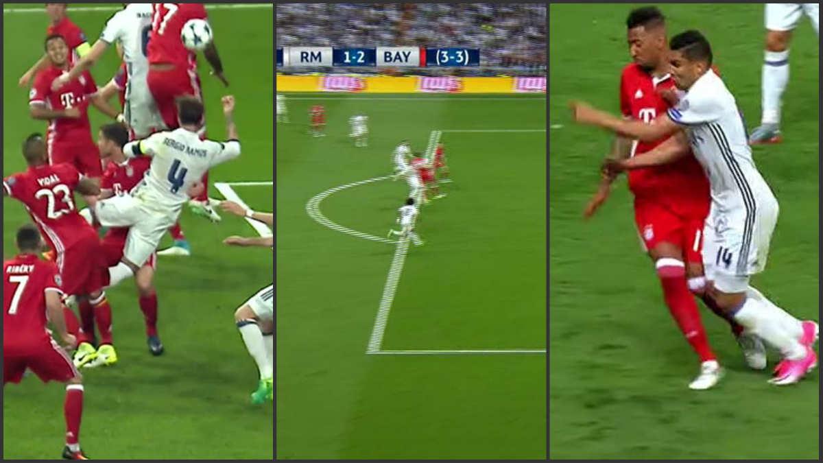 Kassai perjudicó al Real Madrid en tres acciones.