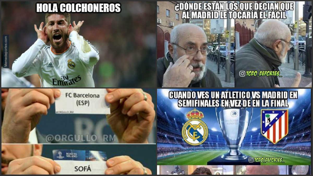 Los mejores memes del sorteo de la Champions.