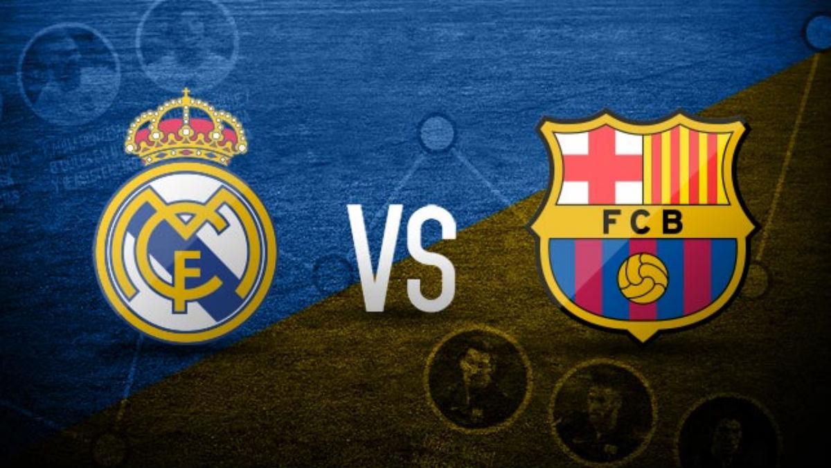 Real Madrid Vs Barcelona.