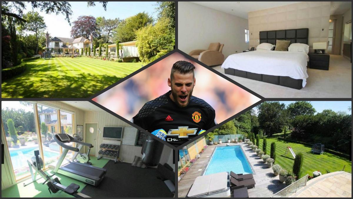 De Gea pone a la venta su casa de Manchester.