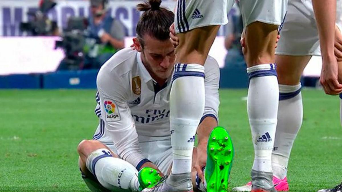 Bale vuelve a lesionarse. (Getty)