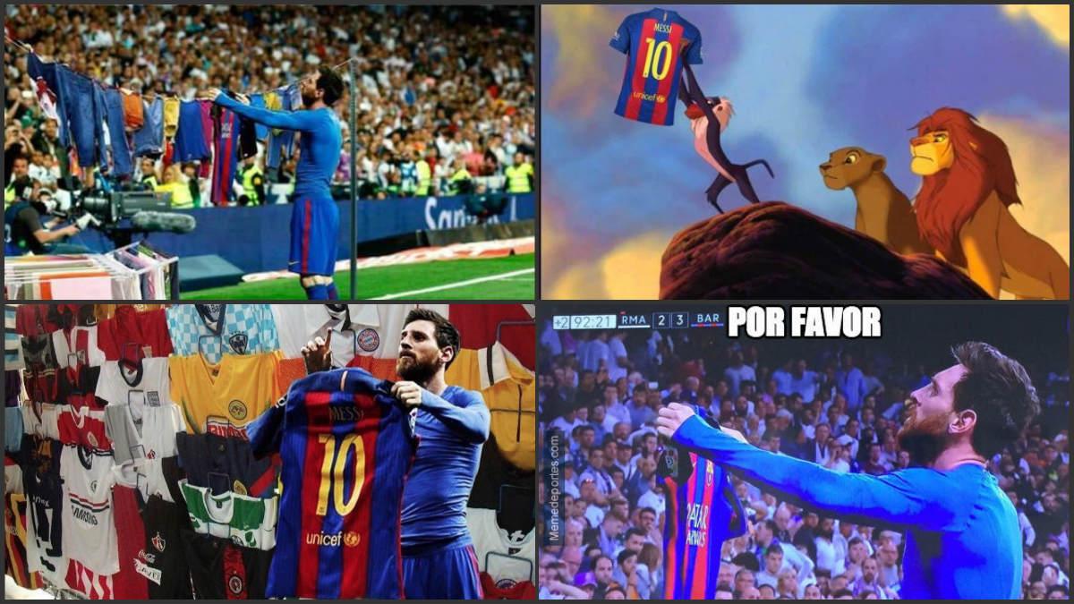 Leo Messi protagoniza los memes.