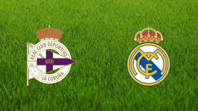 Deportivo vs Real Madrid: horario y canal de televisión.