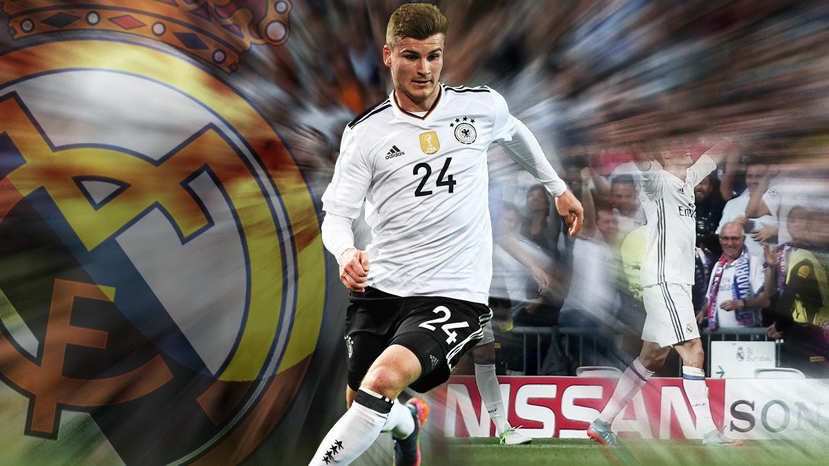 El Real Madrid espía a Werner