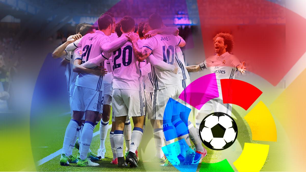 El Real Madrid cuenta con todos sus efectivos para ganar la Liga.
