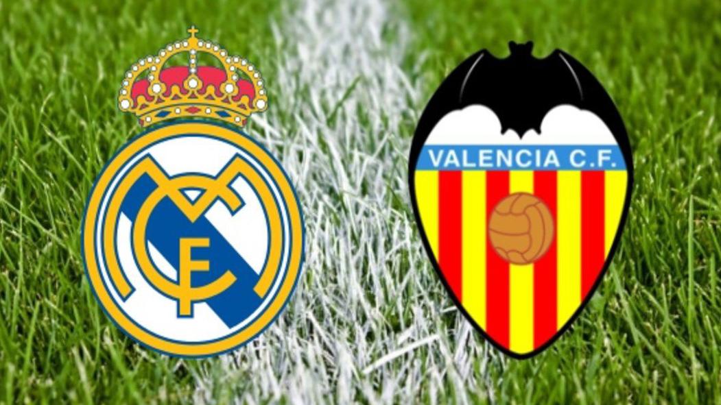 Real Madrid vs Valencia: horario y canal de televisión.