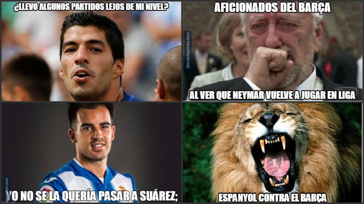 Repasamos los mejores memes del Espanyol-Barcelona.
