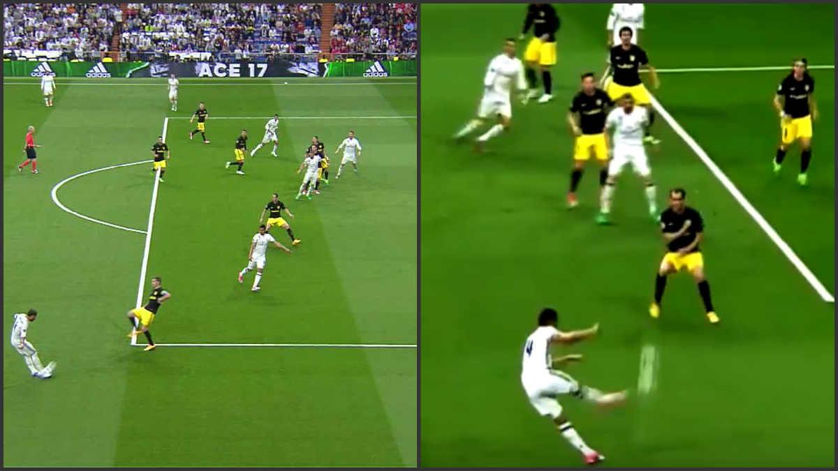 El gol de Cristiano es totalmente legal.