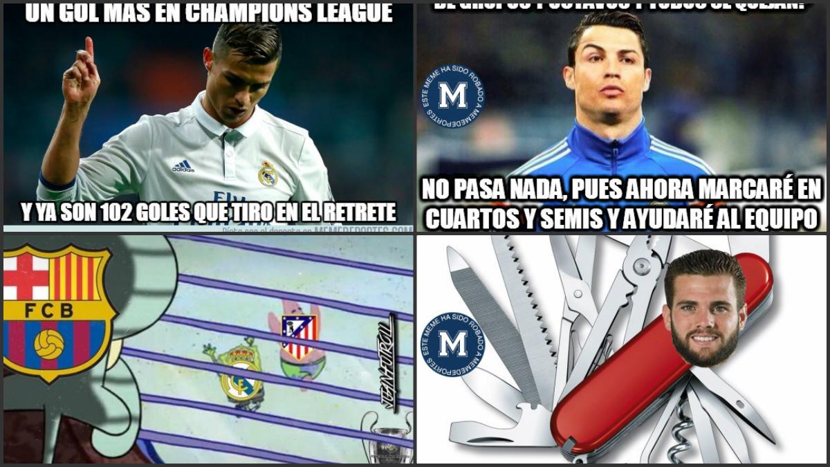 Los mejores memes del Real Madrid vs Atlético.