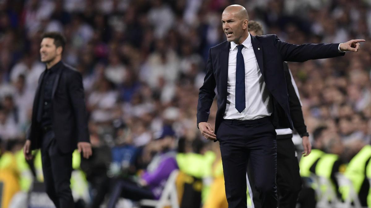 Zidane dio una lección táctica a Simeone. (AFP)