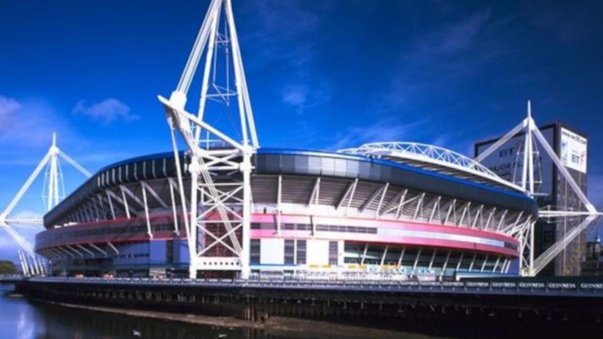 El Millenium Stadium de Cardiff.