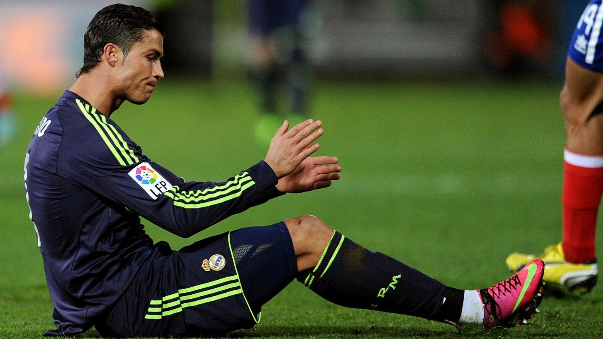 Cristiano Ronaldo se marcó un autogol en Granada. (Getty)