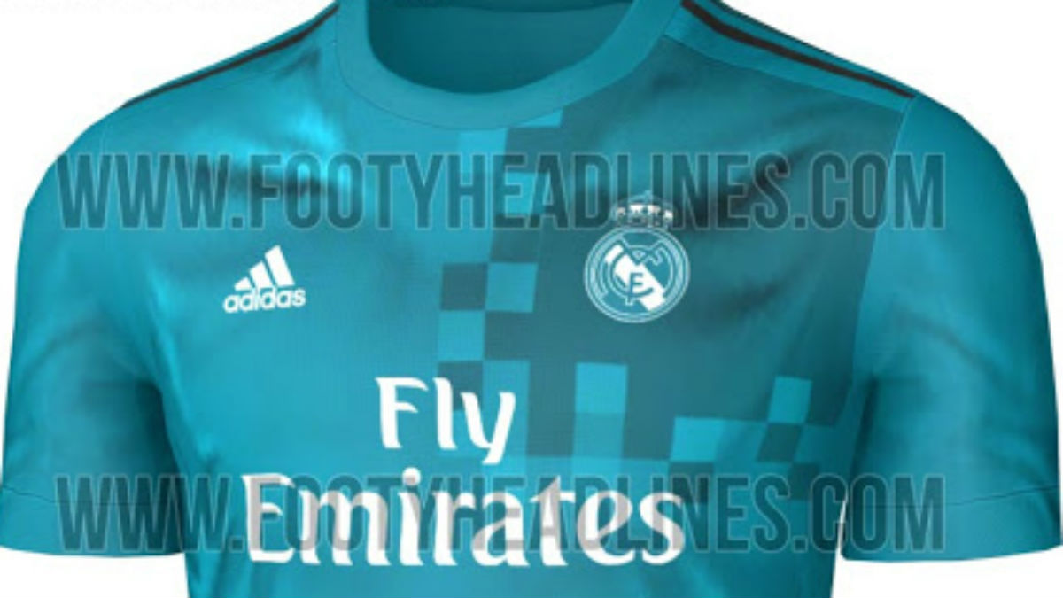Así será la tercera equipación del Real Madrid.