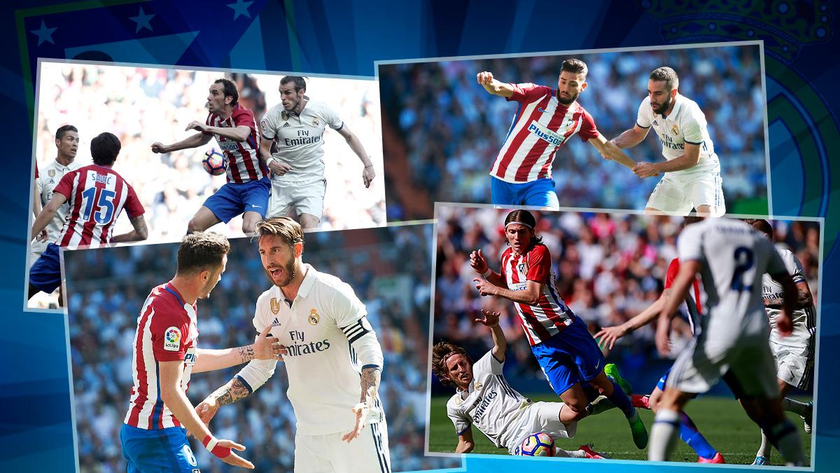 El Atlético de Madrid no va a dar caricias en las vuelta de Champions.