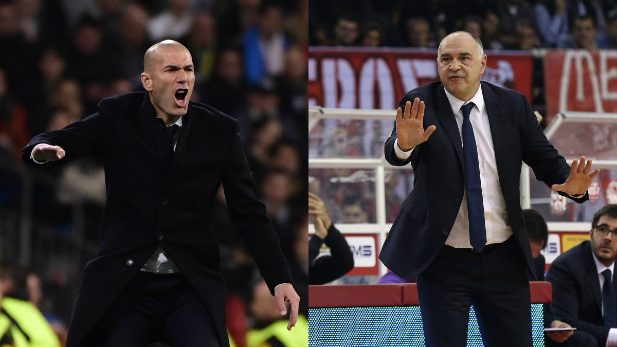 Laso y Zidane.