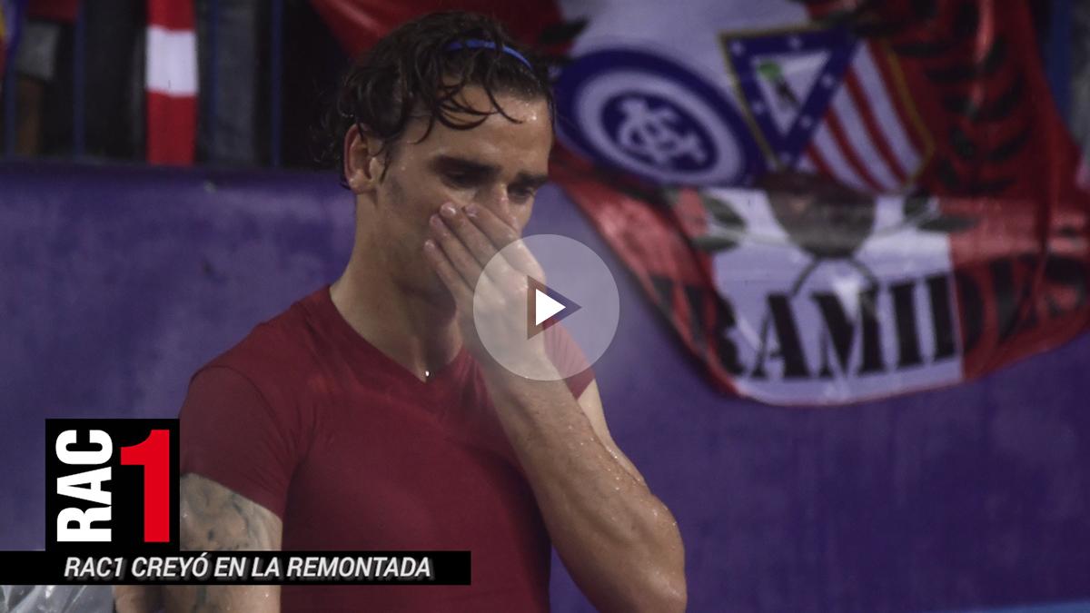 RAC1 se planteó dar en directo el partido con el 2-0 del Atlético.
