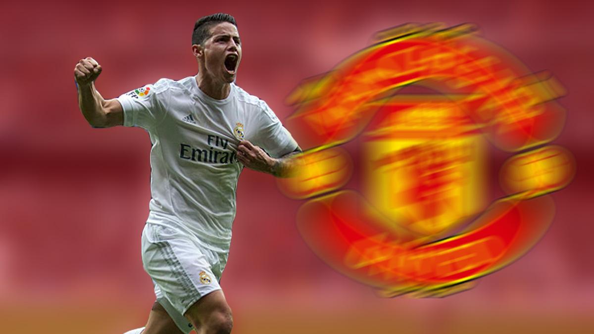 James Rodríguez tiene un principio de acuerdo con el Manchester United