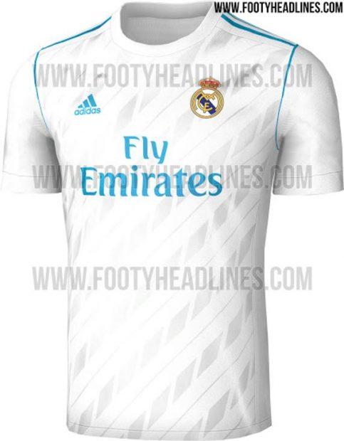 primera-camiseta-madrid-2017-18 La primera camiseta del Real Madrid para ... b1f2954fc371b