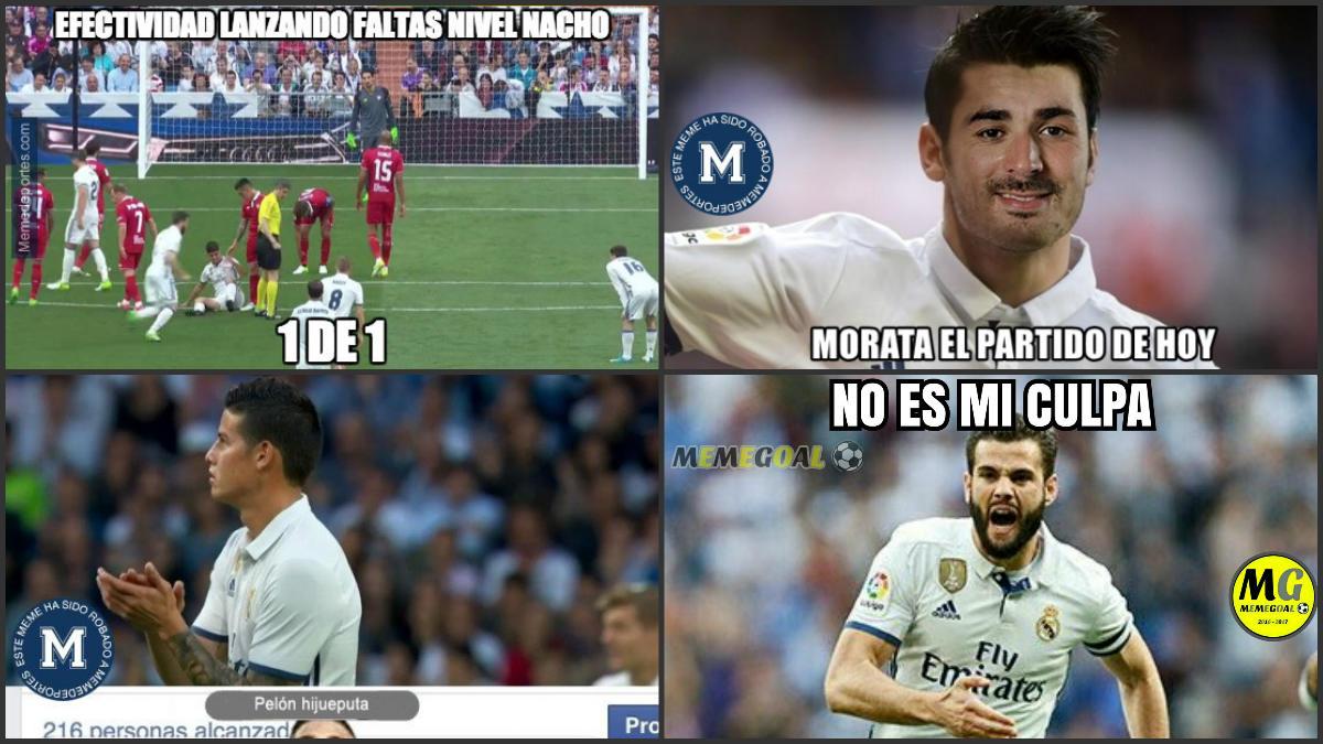 Memes del Real Madrid-Sevilla.