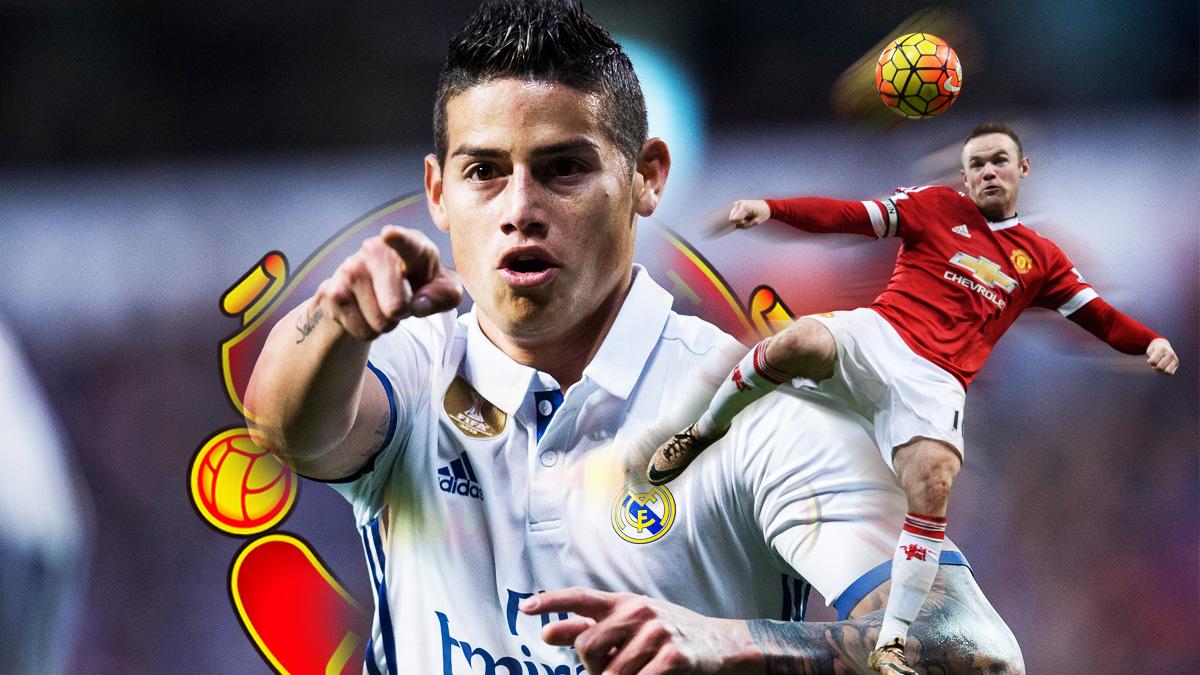 James Rodríguez tendrá que vestir el '10' en el Manchester United.
