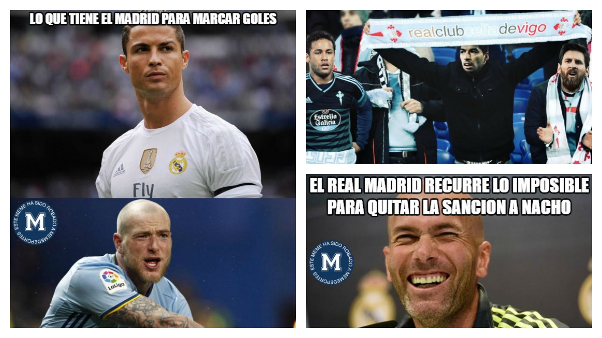 Los memes del Celta vs Real Madrid.