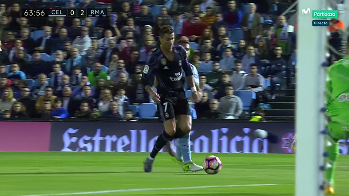 Jonny agarró a Cristiano y le hizo penalti en ese mismo partido. El Madrid terminó ganando.