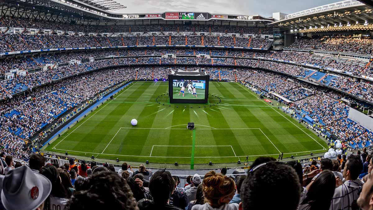 El estadio Santiago Bernabéu vivió la final de la Champions contra el Atlético la temporada pasada.