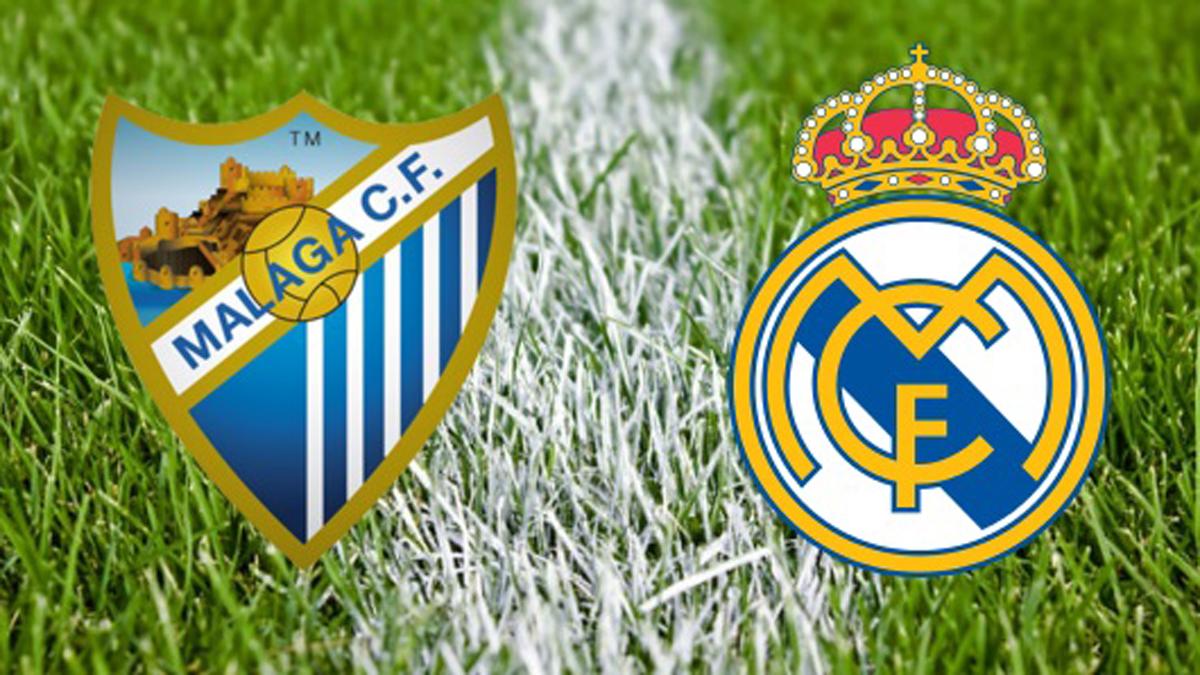 Málaga vs Real Madrid: horario y canal de televisión.