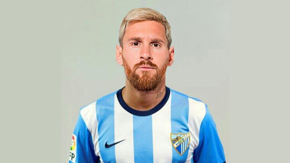 Messi, 'cedido' al Málaga para la última jornada.