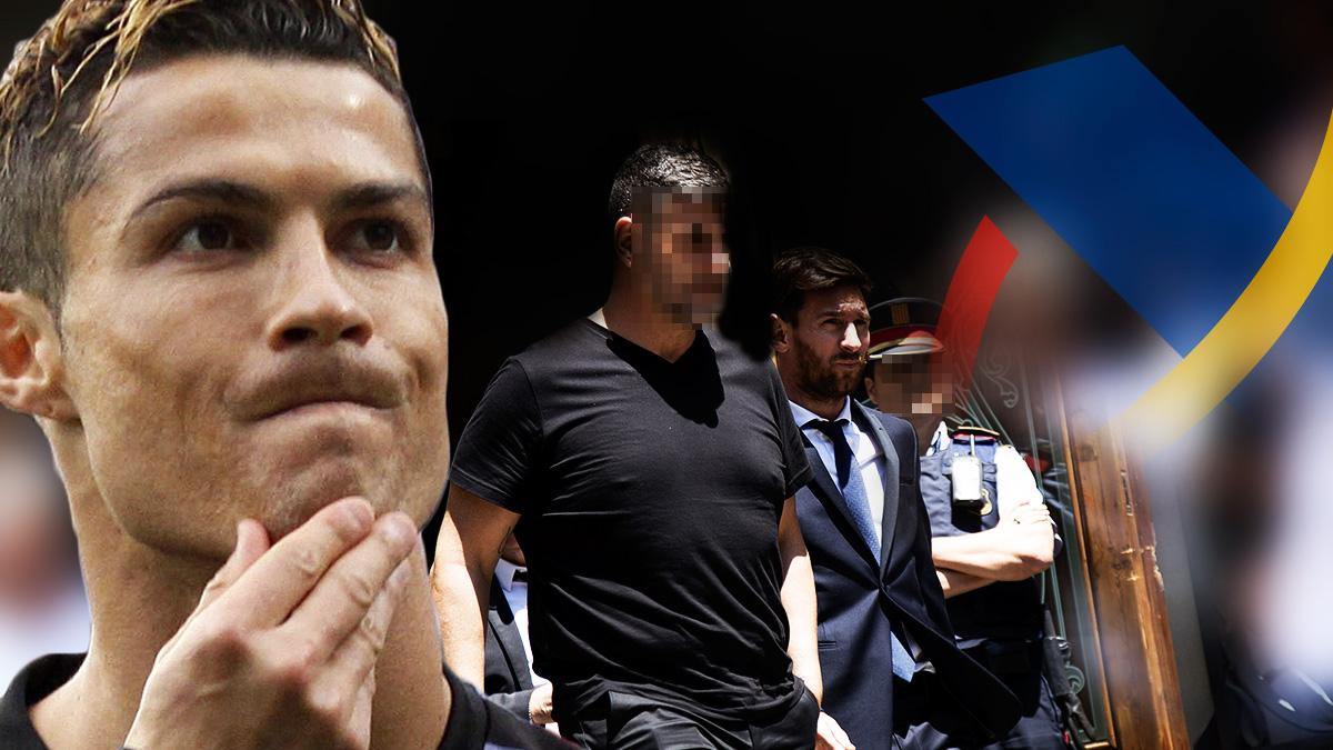 El caso de Cristiano Ronaldo con Hacienda no tiene comparación posible con el de Leo Messi.