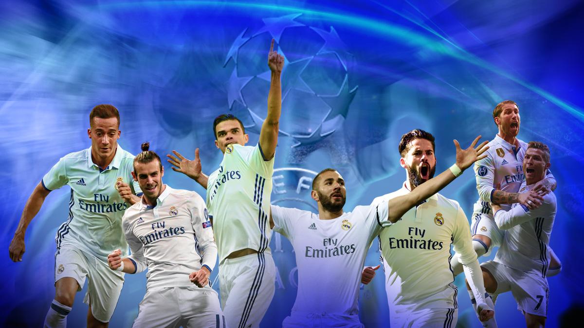 El Real Madrid es el equipo que mejor maneja el juego aéreo en la Champions.