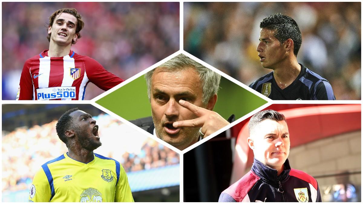 José Mourinho quiere reforzar al United.