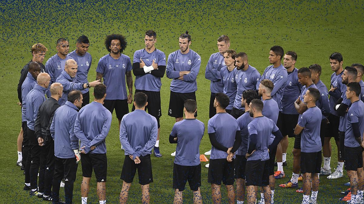 Zidane a su plantilla: «La historia nos espera»